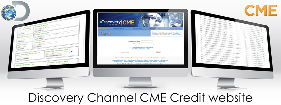 Discovery Channel CME User website